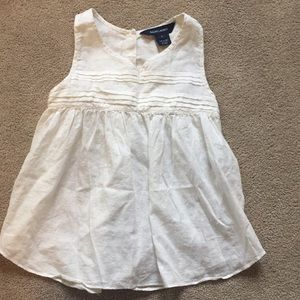 Girls sleeveless blouse